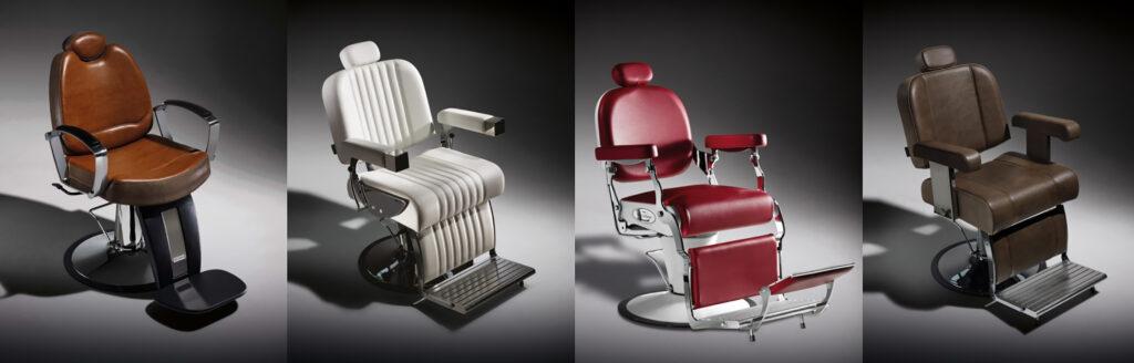 Silla o sillón de barbero